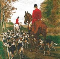 3201 - Hubertus hunt – Fox hunting