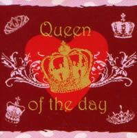 2999 - Queen of the day - Rød