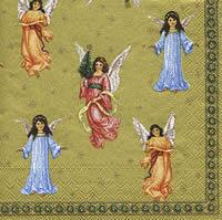 2899 - Heralds Angels - Gold