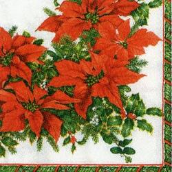 2540 - Poinsettia wreath