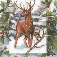 4307 - Deer in the snow