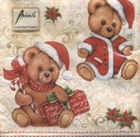 4290 – Christmas teddybear