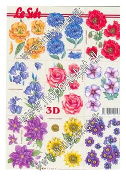 4169.879 Blomster - Miniature