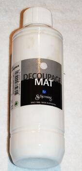 2194 - Decoupage lim/lak - Mat - 250 ml