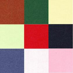 Majestic - 9 sheets in various colours - 120 gr A4
