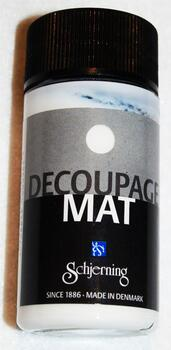 2194 - Decoupage lim/lak - Mat - 50 ml