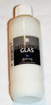 4198 - Glass Decoupage Glue / Varnish - 250 ml