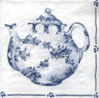 4738 - Tea for two - white/blue