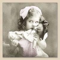 4828 - Girl with doll