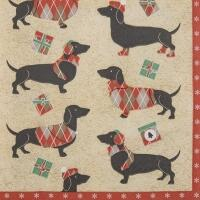 5202 - Winter Dachshund