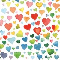 5255 - Colourful hearts Mix