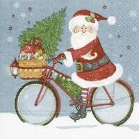 5352 - Santa Claus on a bike