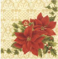 4058 - Poinsettia Flower and border