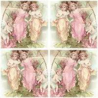 5528 - Decoupage Fairies