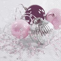 4010 - Christmas finery - Pink and purple
