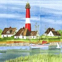 3807 - Fishing village and lighthouse