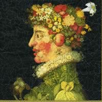 3665 - Arcimboldo - Spring and summer