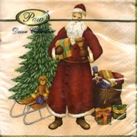 3507 - Santa Claus with gifts