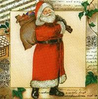 3437 - Santa Claus with gift sack