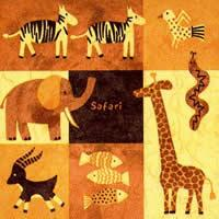 3091 - Jungle animals – Cartoon like