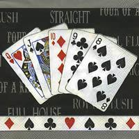 2867 - Royal Flush/Full house - Kortspil