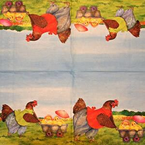 2759 - Hens and chikens