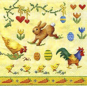 2233 - Easter stitches
