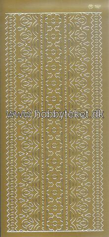 782 Large borders - Gold