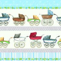 4173 - Prams - Light Blue