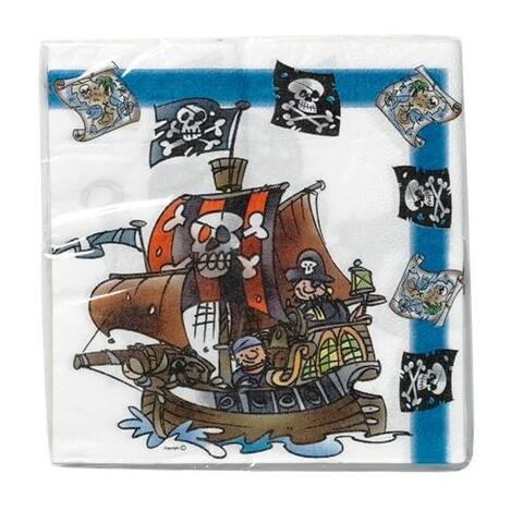 4527 - Pirates, ship, map and flag
