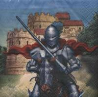 4621 - Valiant knight - Coffee napkin