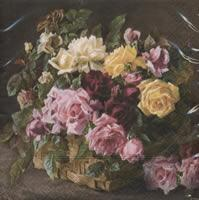 4639 - Roses in basket