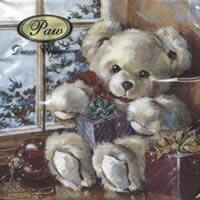 4773 - Teddy Bear with Christmas gifts