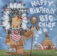 4895 - Happy Birthday big chief