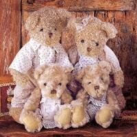 5254 - Family Teddybear