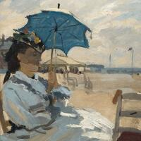 5396 - Beach at Trouville