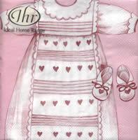 3983 – Baby's dress – Pink