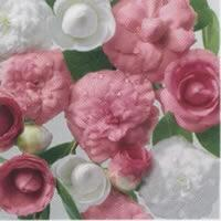 3870 - Pink and White flowers