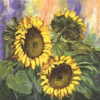 3827 - Sunflowers - Coffee napkin