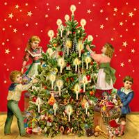 3606 - Kids at the Christmas tree