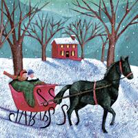 3579 - Sleigh ride in the snow