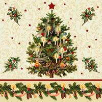 3429 - Christmas tree and Christmas border