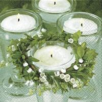 3246 - Candles and lilies of the valley