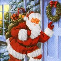 4315 - Santa knocks on the door