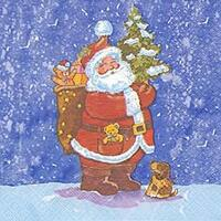 2566 - Santa Claus in the snow