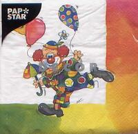 2104 – Clown and rainbow