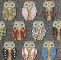 4365 - Many different owls