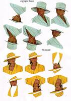 066460 Ladies hats