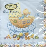 4174 - Baby in pram - Light Blue