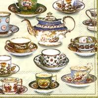 4628 - Five o'clock tea - Coffee napkin